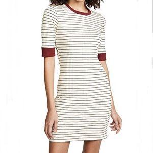 NWT Joie Tralena Striped Ribbed T-Shirt Dress